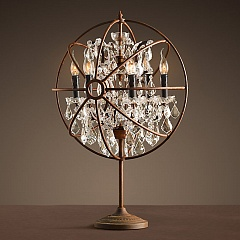 Настольная лампа Light design Foucault's orb crystal 30024