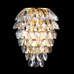 Бра Crystal Lux CHARME CHARME AP3 GOLD/TRANSPARENT