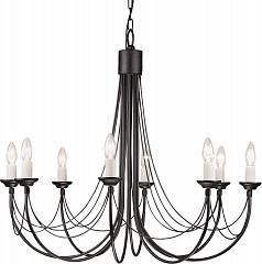 Подвесная люстра Elstead Lighting CARISBROOKE CB8 BLK