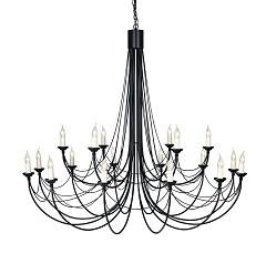 Подвесная люстра Elstead Lighting CARISBROOKE CB18 BLK