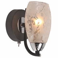 Бра IDlamp 215/1A-Blackchrome