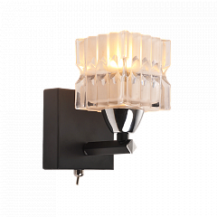 Бра IDlamp 205/1A-Blackchrome