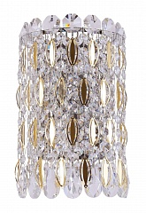 Бра Crystal Lux LIRICA AP2 CHROME/GOLD-TRANSPARENT