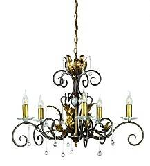 Подвесная люстра Elstead Lighting AMARILLI AML5 BR/GLD